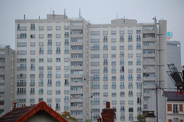 Logement sociaux à Saint-Denis, Seine-Saint-Denis (France)