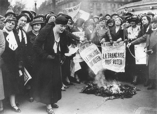 Louise Weiss droit vote femmes 1944 1935