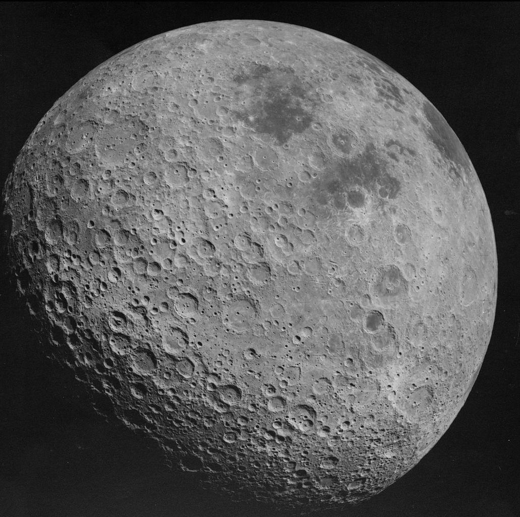 Face cachée de la Lune Apollo 16