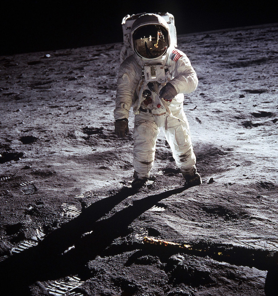 Buzz Aldrin Apollo 11 Lune homme