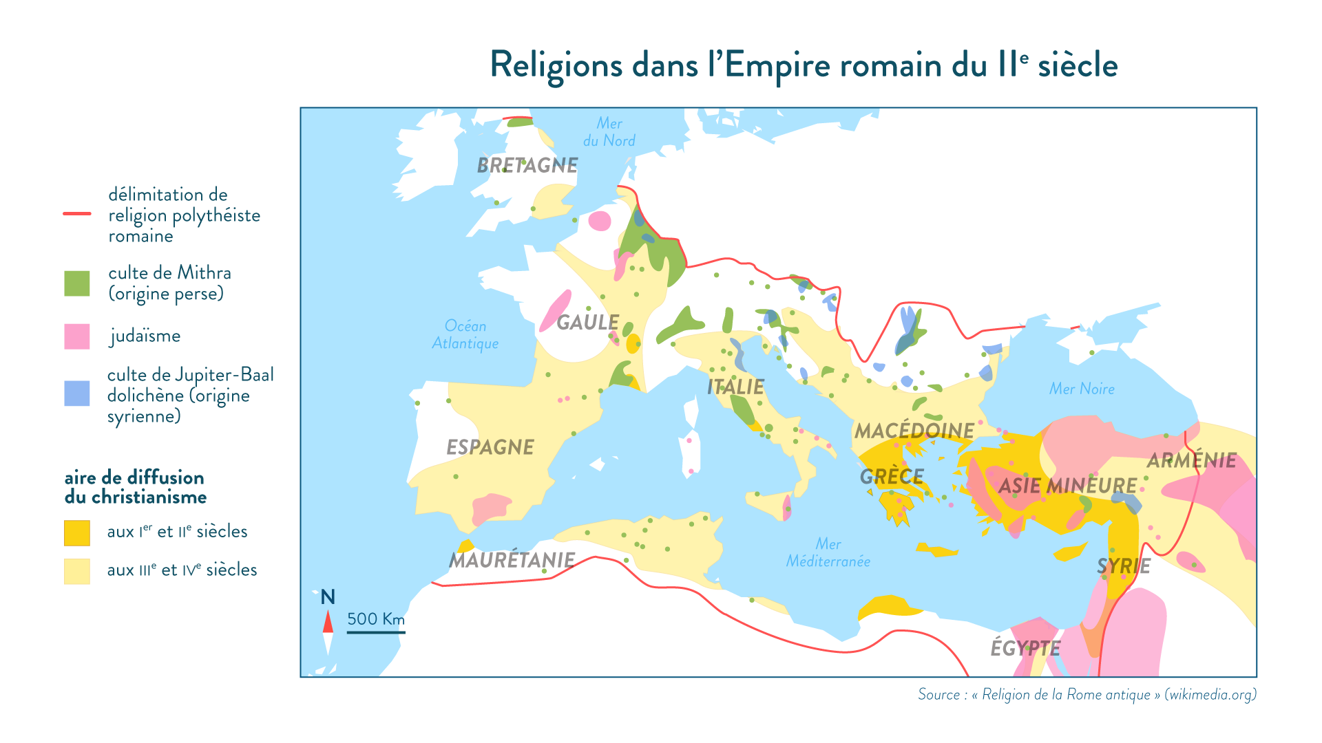 religions empire romain IIe siècle