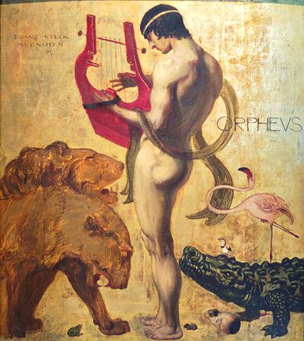 Orphée mythe d'Orphée lyre orphisme lyrisme poéqie