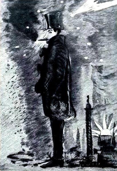 Baudelaire autoportrait ville