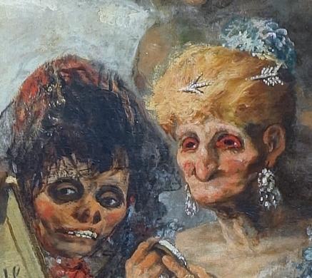 Vieilles Goya petites vieilles baudelaire