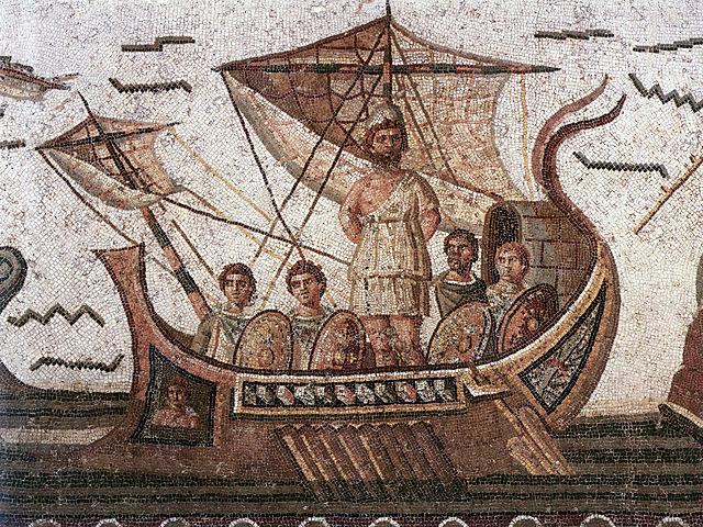 Ulysse antiquité odyssée grec