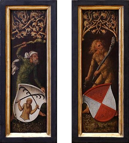 homme sauvage homme des bois homme vert représentation médiévale
