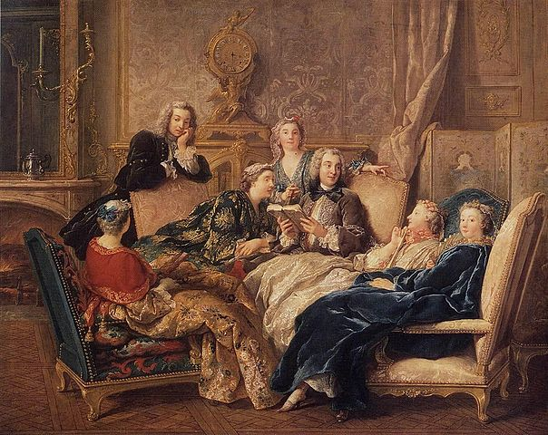 lecture salon littéraire Molière