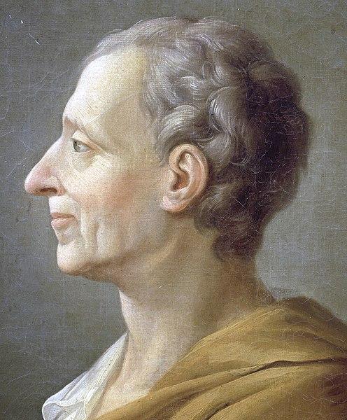 Charles Secondat de Montesquieu Lumières XVIII