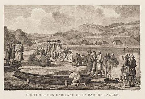 Voyage de La Pérouse autour du monde gravure découvertes