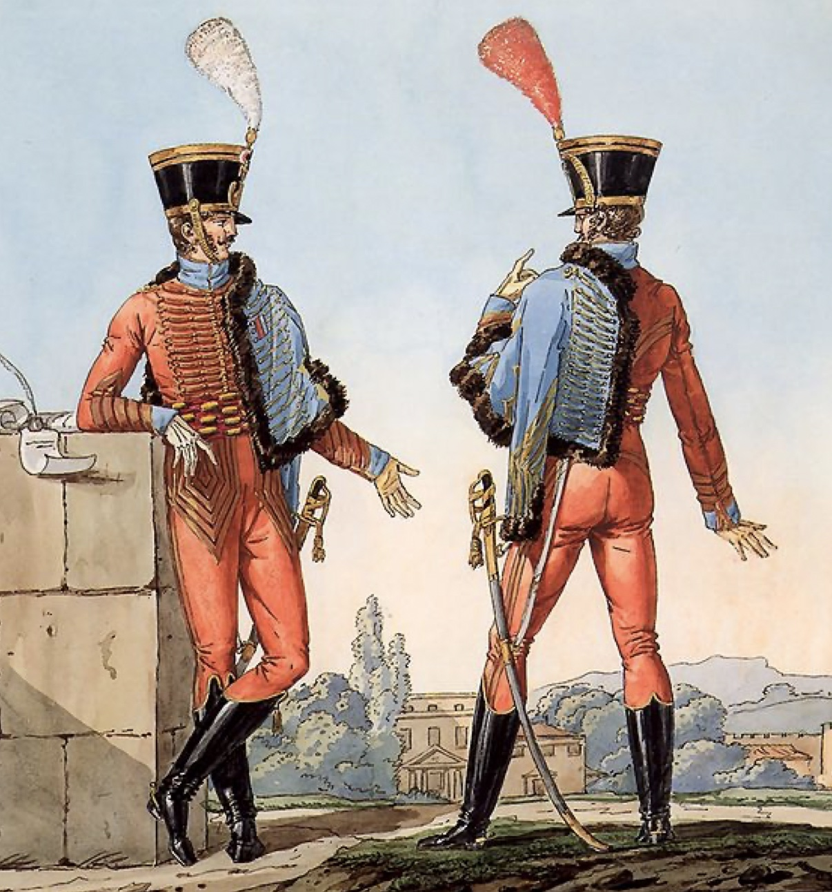 hussard Napoléon Grande Armée Premier Empire
