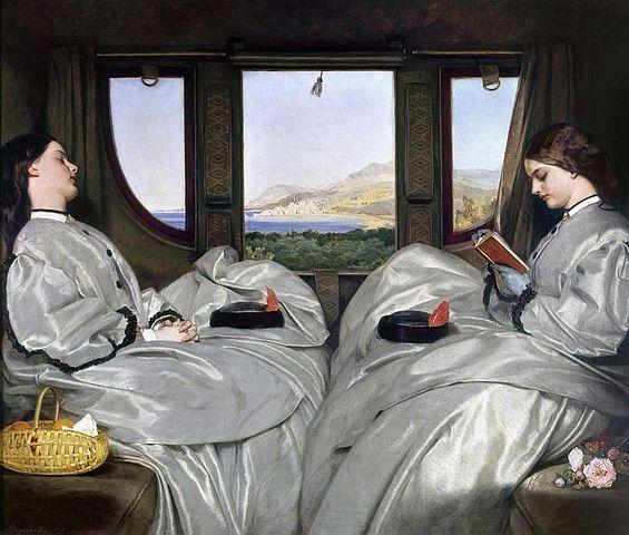 Voyage train voyageurs