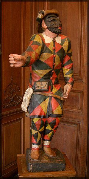 Arlequin commedia dell'arte valet serviteur Marivaux