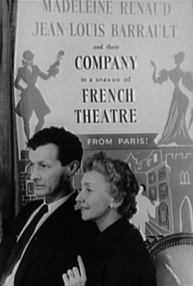 Madeleine Renaud Jean-Louis Barrault Oh, les beaux jours ! Beckett
