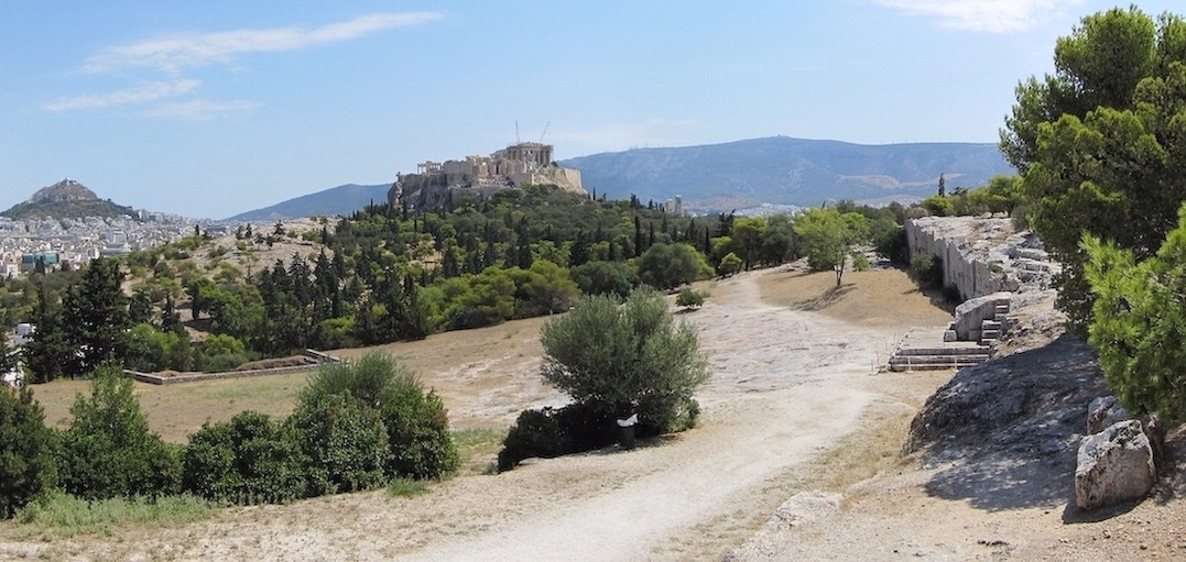 Pnyx Athènes Acropole