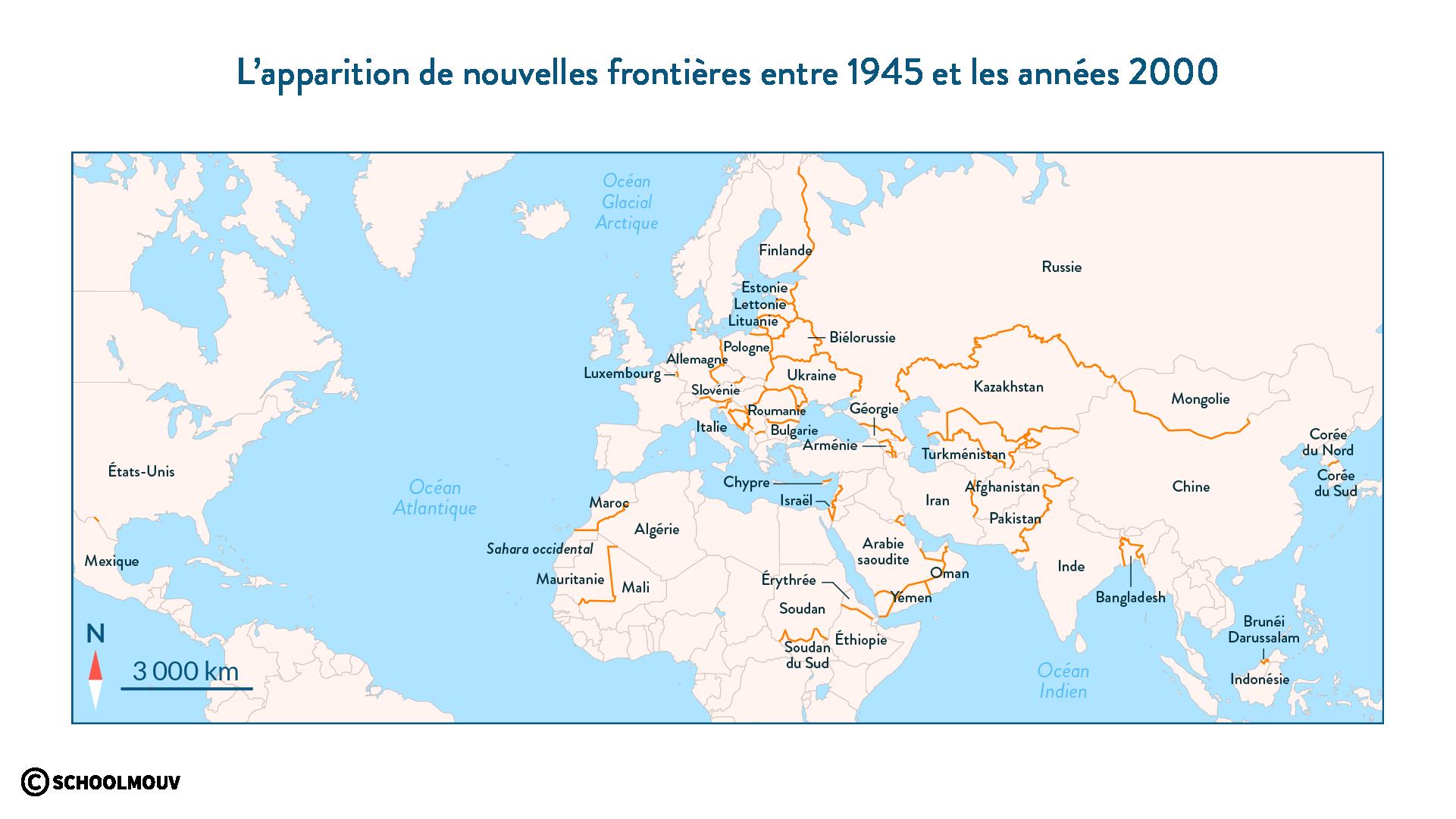 nouvelles frontières monde