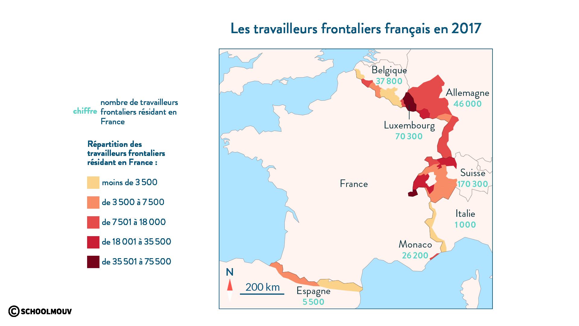 travailleurs frontaliers français