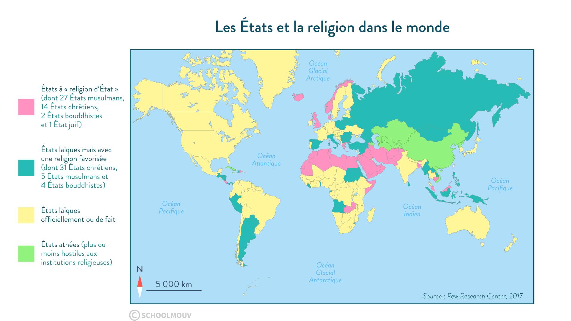 religion État monde