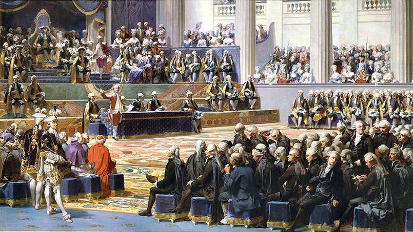 Ouverture des états généraux à Versailles, 5 mai 1789, histoire - 1re - SchoolMouv