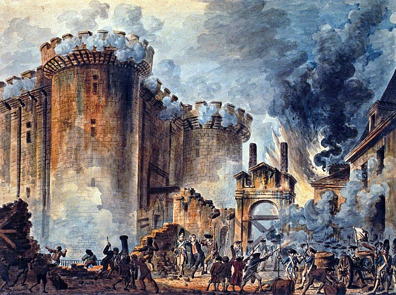 Prise de la Bastille, 1re - Histoire - SchoolMouv