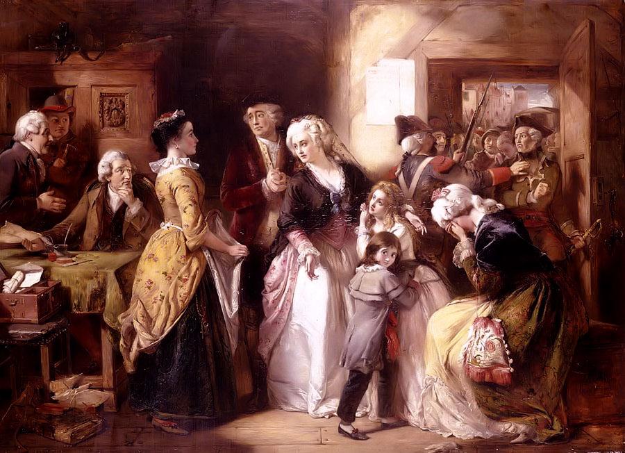 L'arrestation du roi et de sa famille à Varennes - Histoire - 1re - SchoolMouv