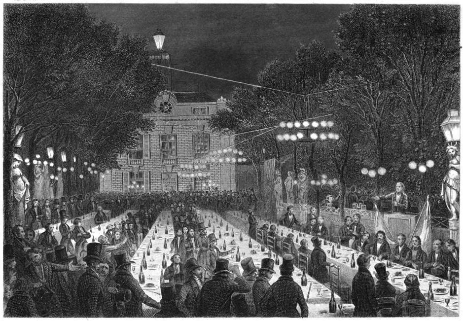 Banquet républicain en 1847 - Histoire - 1re - SchoolMouv