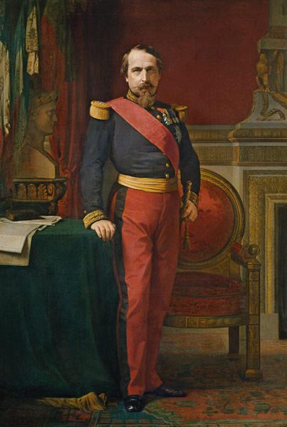 NapoléonIII, par Hippolyte Flandrin, 1862  - Histoire - 1re - SchoolMouv
