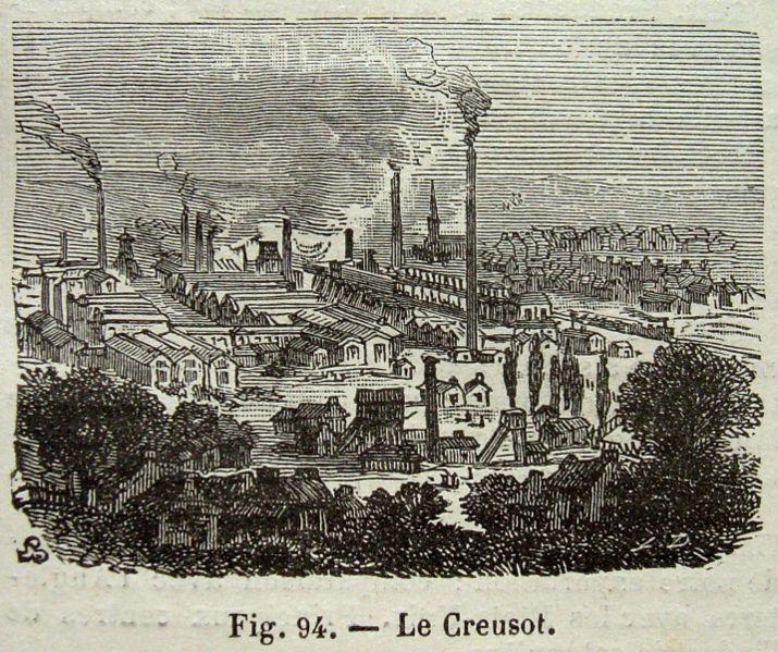 Les usines Schneider au Creusot - Histoire - 1re - SchoolMouv