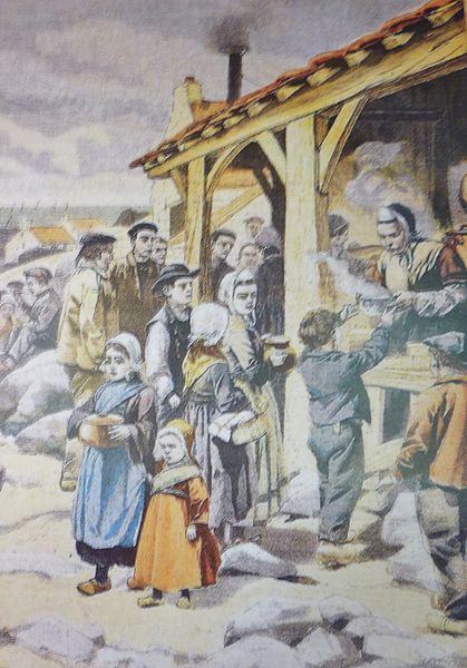 Un fourneau économique en Bretagne - Histoire - 1re - SchoolMouv