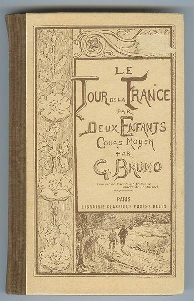 Couverture du livre de lecture Tour de la France par deux enfants - SchoolMouv - Histoire - 1re