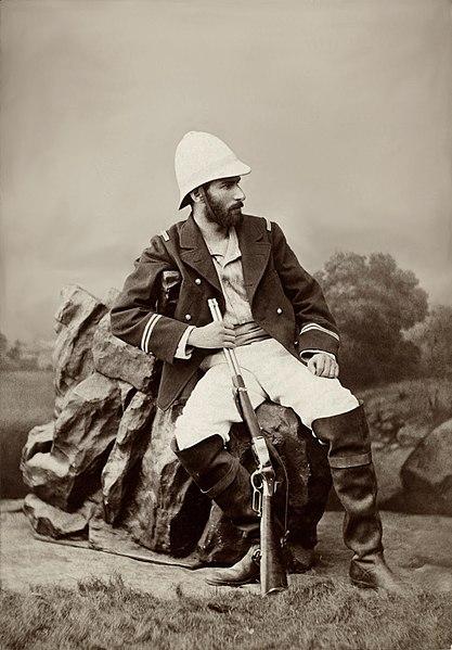 Savorgnan de Brazza, officier de marine et explorateur français, vers 1880 - Histoire -1re - SchoolMouv