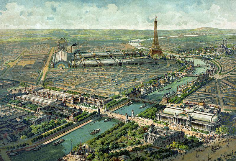 Vue panoramique de l'Exposition universelle de 1900 - Histoire - 1re - SchoolMouv
