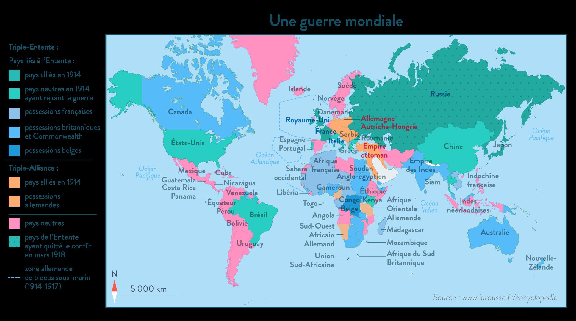 Une guerre mondiale - SchoolMouv - Histoire - 1re