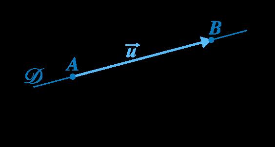 mathématiques première réforme géométrie repérée vecteur directeur droite