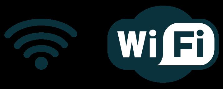 numérique sciences informatiques IP et le réseau local première logo Wi-fi et pictogramme Wi-Fi