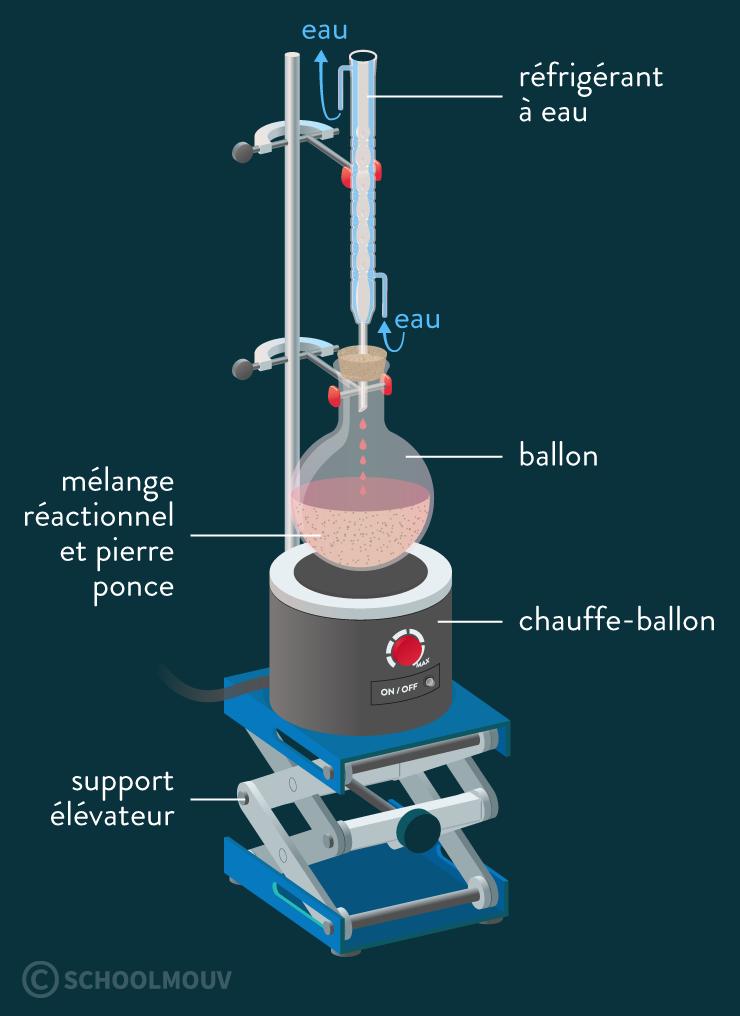 physique chimie première réforme synthèse organique