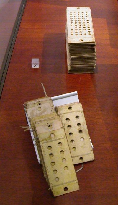 cartes perforées, machine analytique