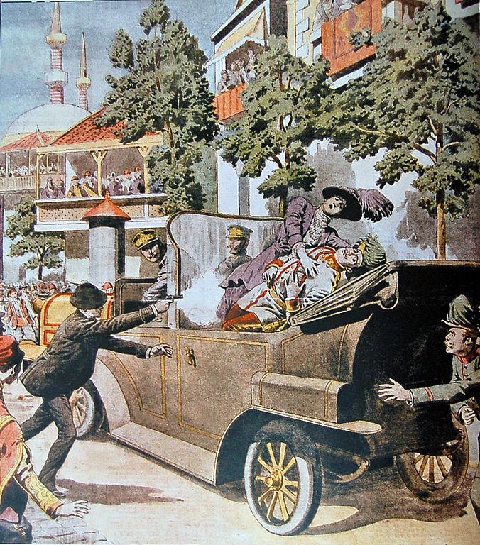 Assassinat de l'archiduc François-Ferdinand - histoire - 1re - SchoolMouv