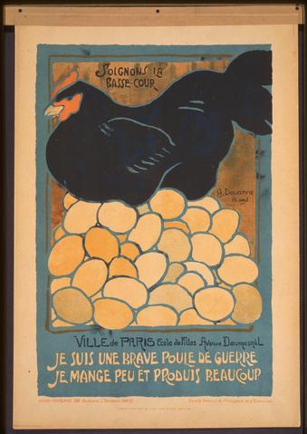 Affiche française de 1918 - effort de guerre - SchoolMouv - Histoire - 1re
