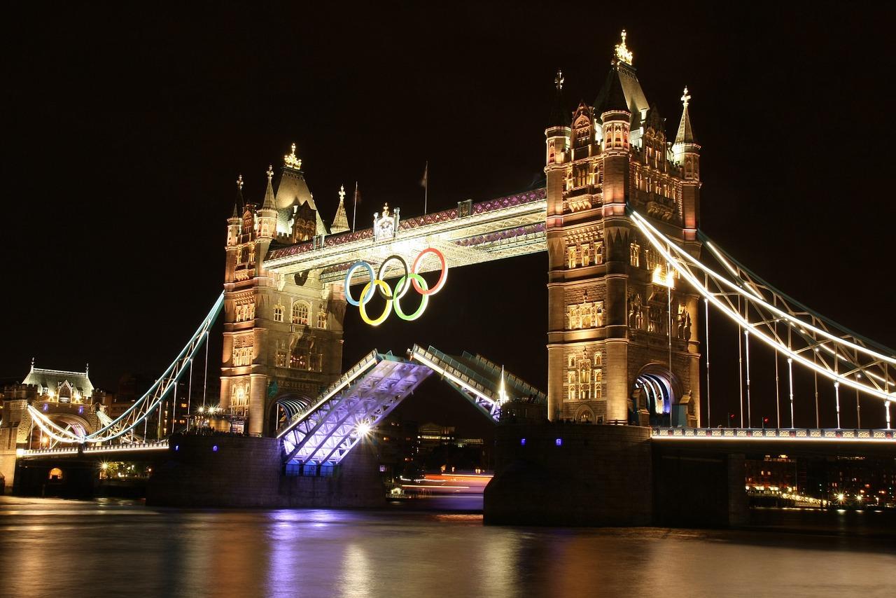 Tower Bridge Londres Jeux olympiques 2012