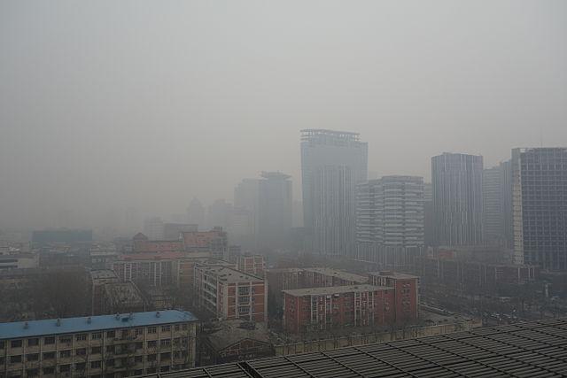 Chine ressources pollution air Pékin géographie première