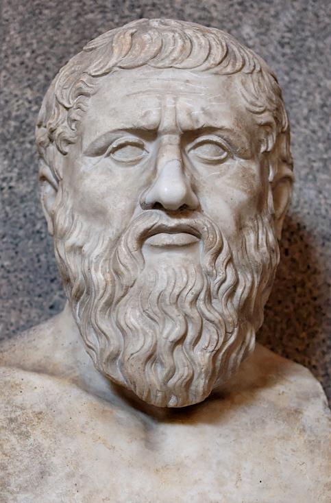 Platon (-428 à -348), musée du Vatican