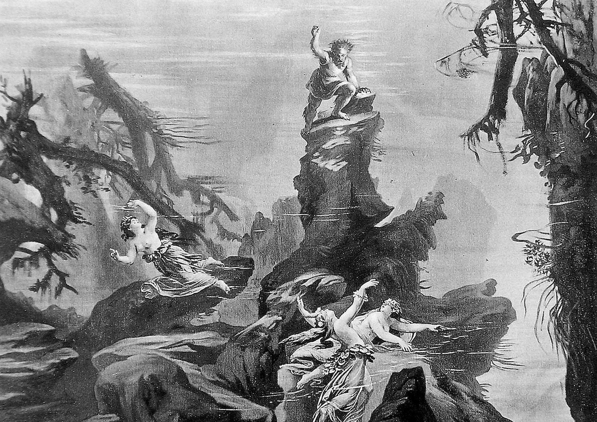 L'Anneau des Nibelungen, JosefHoffman, 1876, photographie de ViktorAngerer