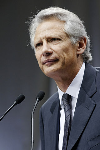 Dominique de Villepin en 2010, photo ©Marie-Lan Nguyen CC-BY 2.5