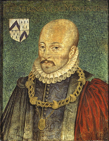 Portrait de Michel de Montaigne, source : BNF