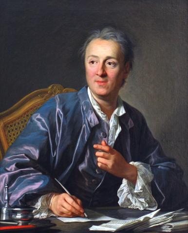 Portrait de DenisDiderot par Louis-MichelvanLoo, 1767, huile sur toile, 81×65cm, source: BNF