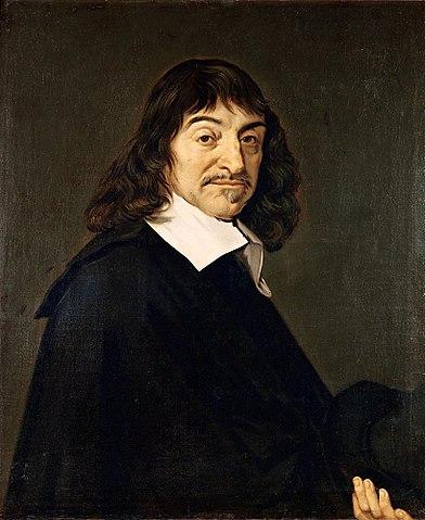 Portrait de RenéDescartes d'après FransHals, entre1649 et1700, huile sur toile, 77,5×68,5cm, ©BNF