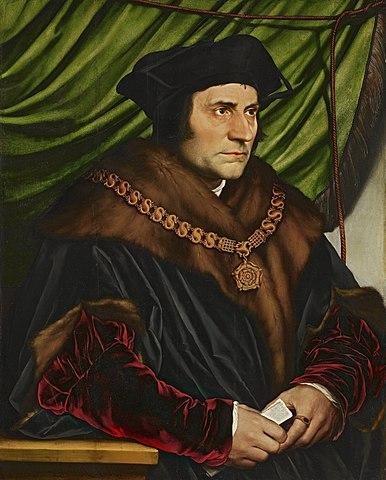 Portrait de ThomasMore par HansHolbein, 1527