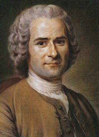 Portrait de Jean-JacquesRousseau par Quentin deLaTour, fin du XVIII<sup>e</sup>siècle, musée Antoine-Lécuyer, Saint-Quentin