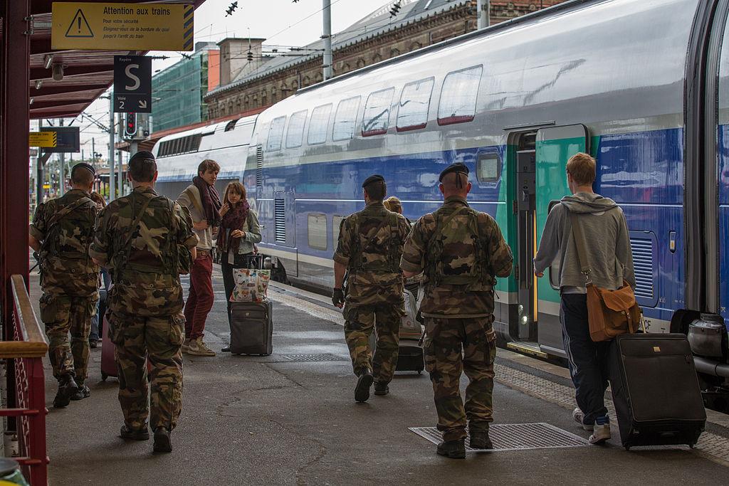 Plan Vigipirate gare Strasbourg 2013