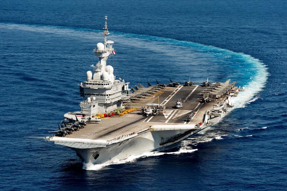 porte-avions Charles-De-Gaulle